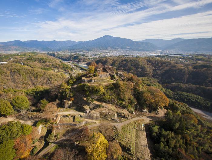 続日本100名城、苗木城