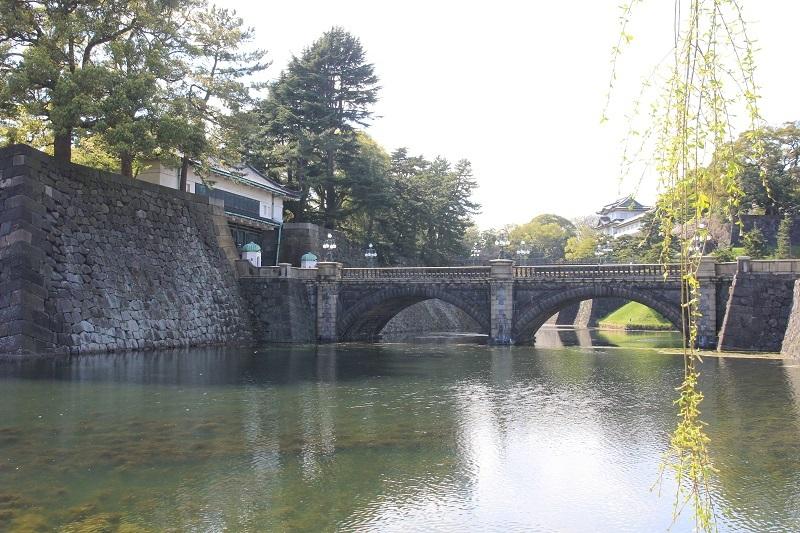 江戸城二重橋、皇居