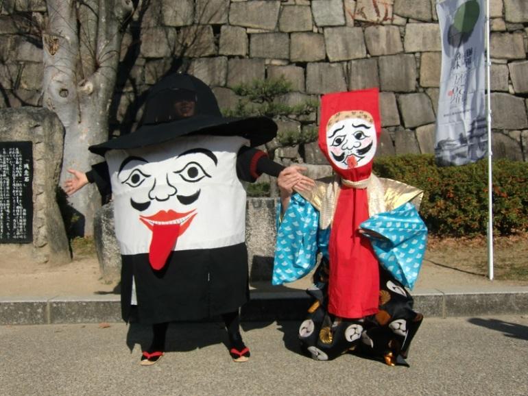 大阪城、ちょろけん