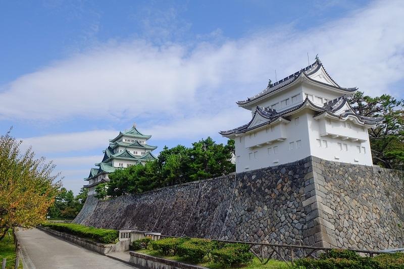 尾張藩、名古屋城