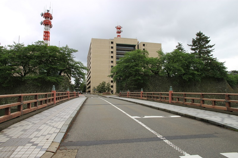 福井城、福井県庁