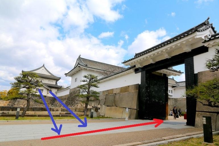 大阪城、大手口、高麗門