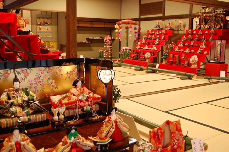 くつろぎのひな祭り、福山城