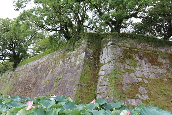 鹿児島城、高石垣