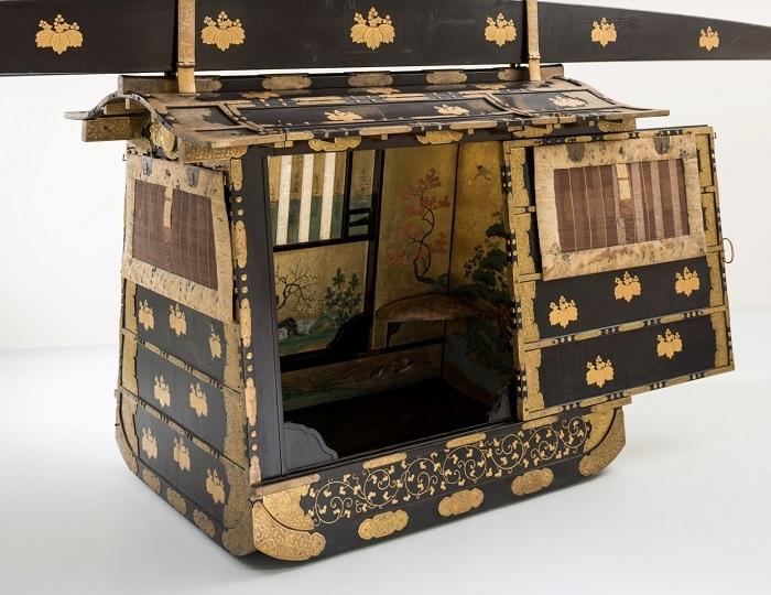 高知城、おひなさま