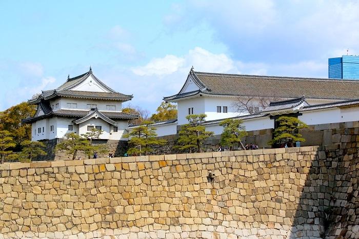 大阪城、大手門、千貫櫓