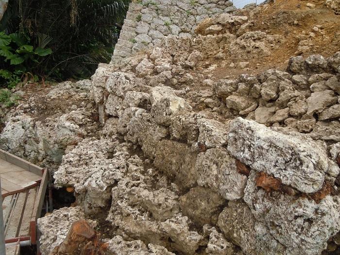 切石積、城壁