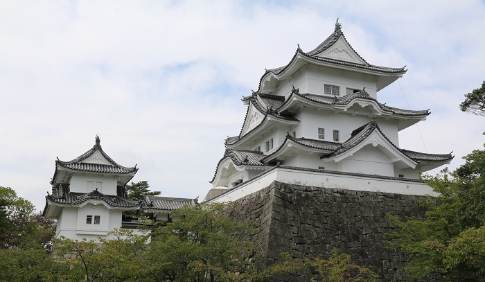 伊賀上野城、天守