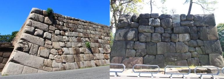 江戸城本丸、天守台、中雀門