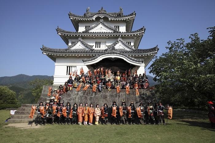 宇和島城、伊達なうわじまお城祭り