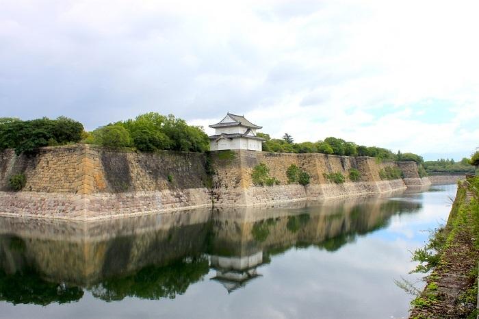 大阪城、南外堀