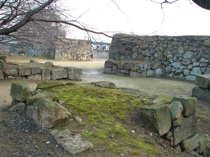 姫路城、二重桝形、車門