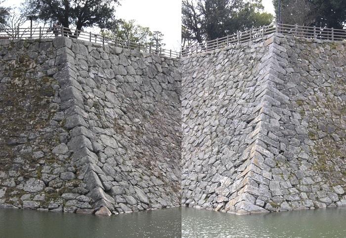 三原城、隅石