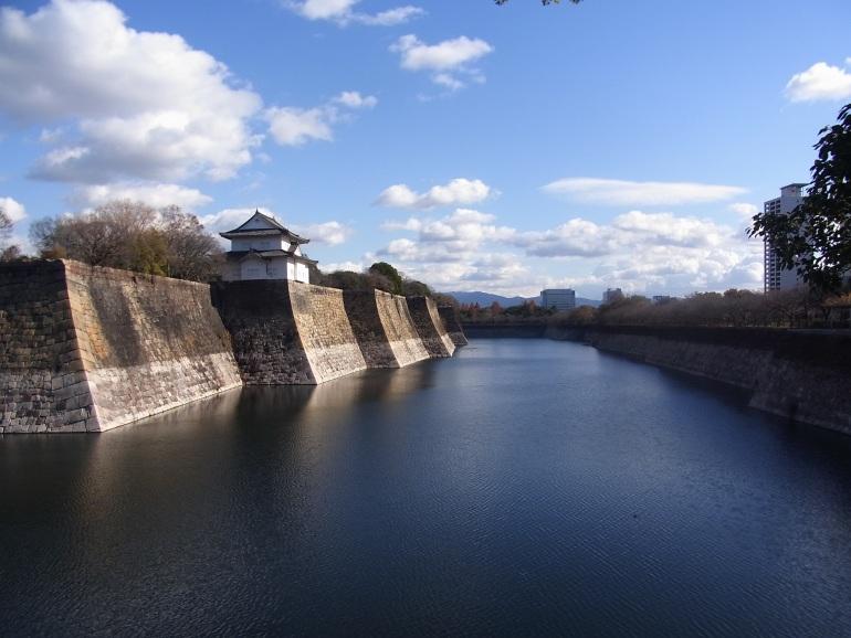 大阪城、南外堀、六番櫓