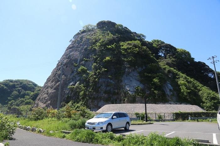 金ヶ崎城全景