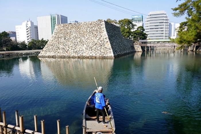 高松城の水堀