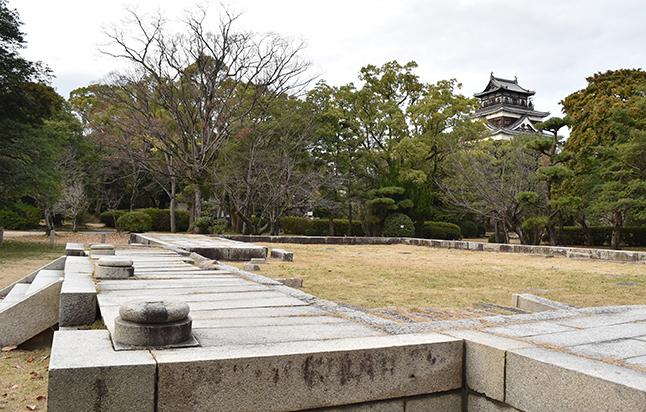 広島大本宮跡、広島城天守