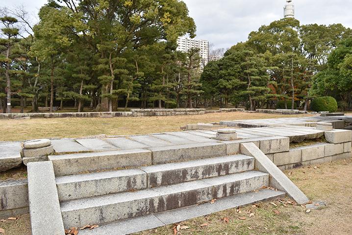 広島大本宮跡、本丸御殿