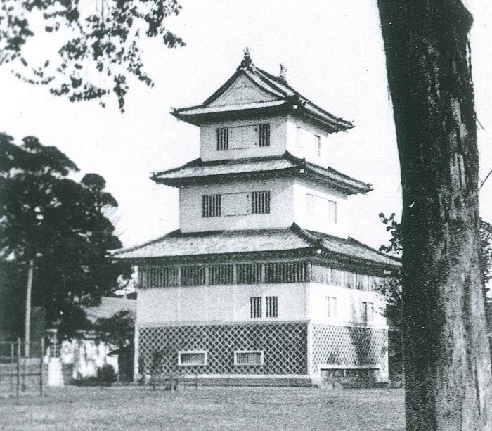 徳川御三家の居城、水戸城、天守、御三階櫓