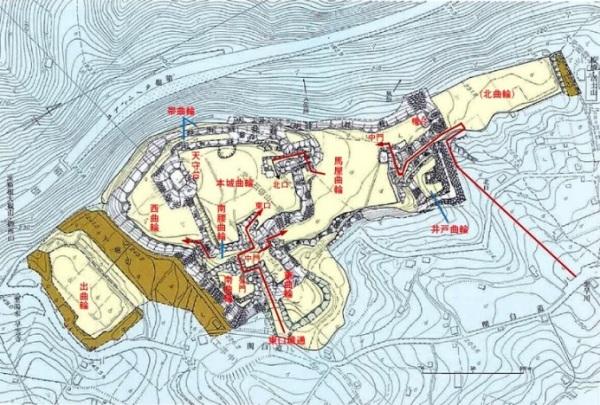 石垣山城を歩こう2