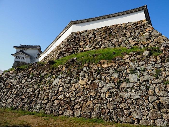姫路城、石垣