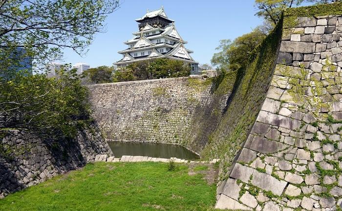 大坂城、堀