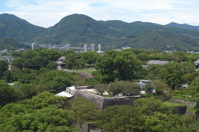 熊本城、熊本市役所、展望フロア