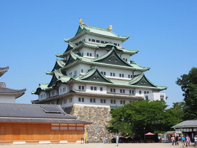 金鯱、名古屋城天守、尾張藩