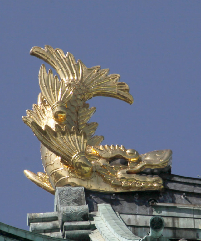 名古屋城、金鯱、復元