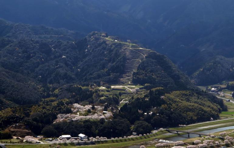 お城EXPO2019、城めぐり観光情報ゾーン、月山富田城