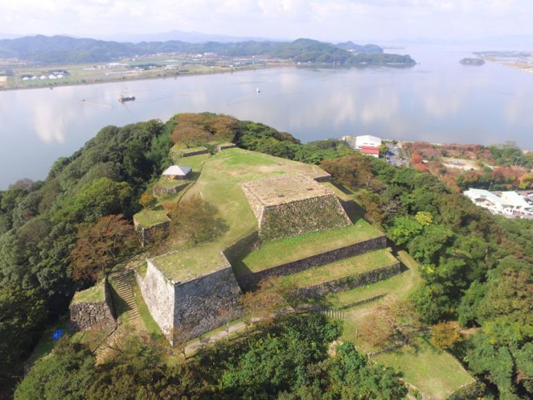 お城EXPO2019、城めぐり観光情報ゾーン、米子城