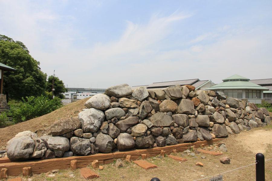 清州城、石垣