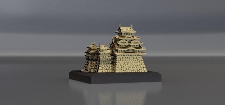 姫路城置物