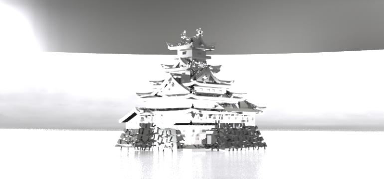大阪城置物