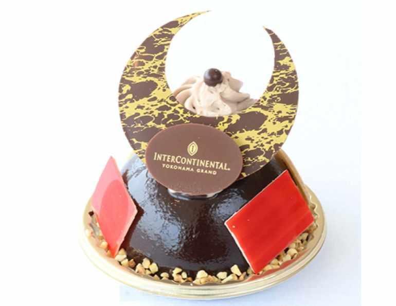 チョコ兜ケーキ