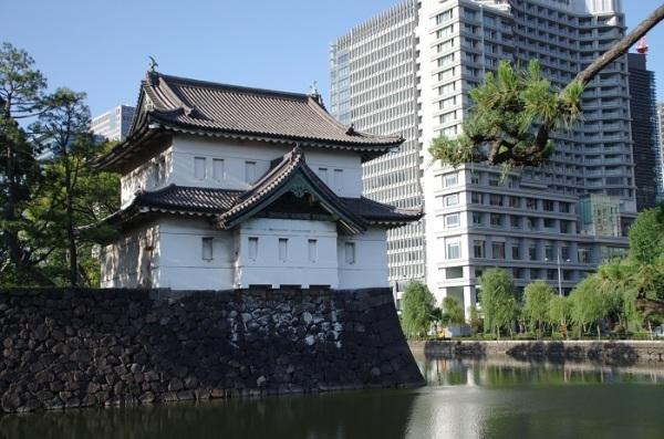江戸城の櫓(1)〜江戸時代から残る、伏見櫓と巽櫓