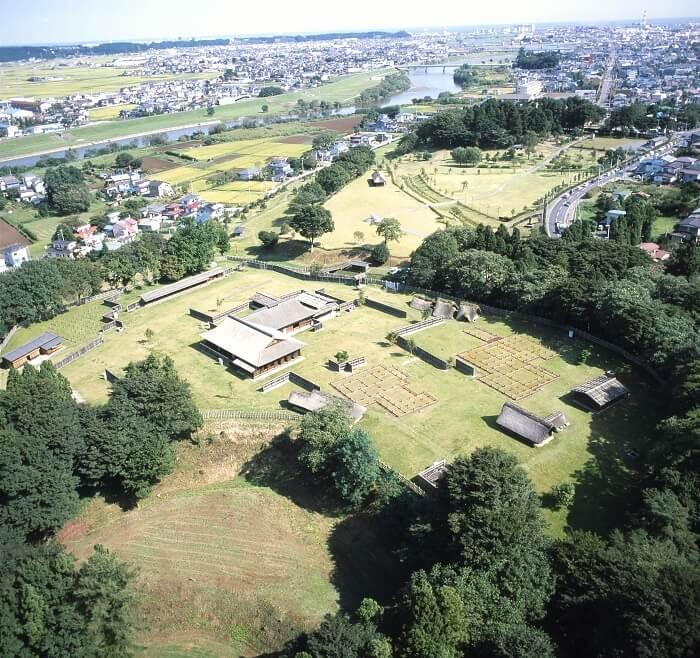 お城EXPO、根城、鳥瞰図