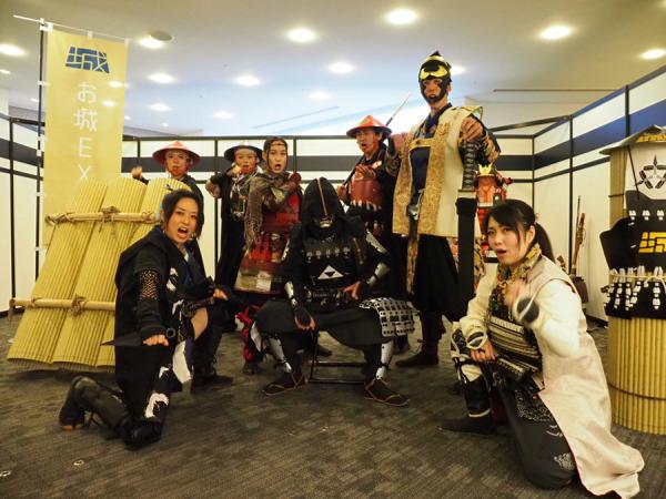 お城EXPO2019、城番衆