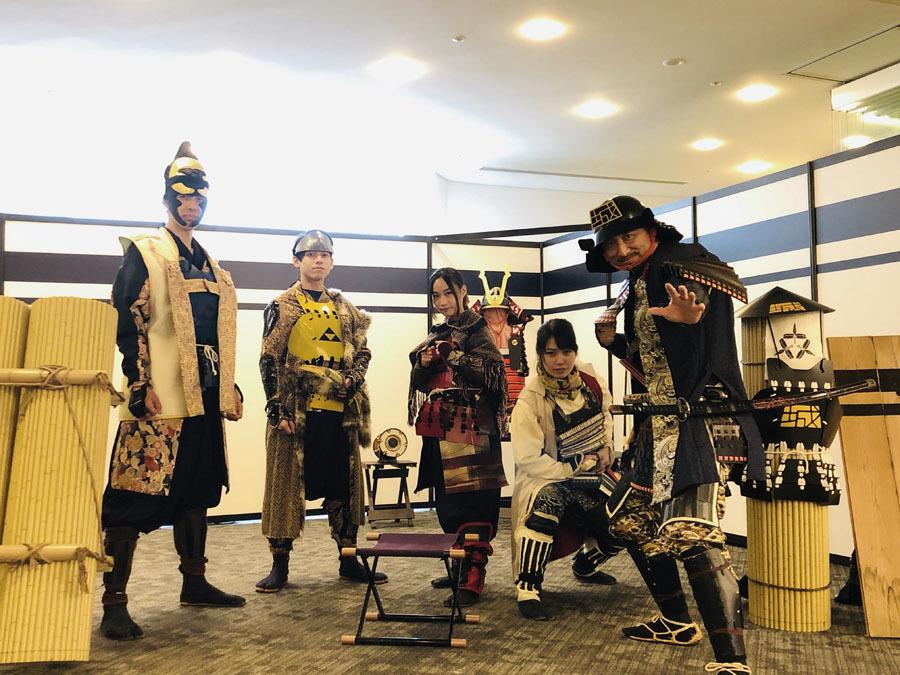 お城EXPO2019、おもてなし武将隊