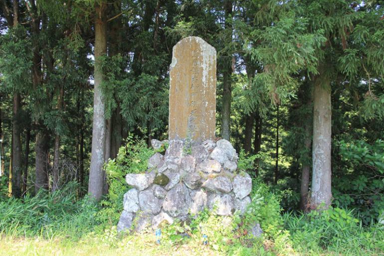 長篠の戦い、鳥居強右衛門の碑
