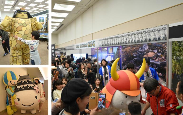 お城EXPO2019、ゆるキャラ