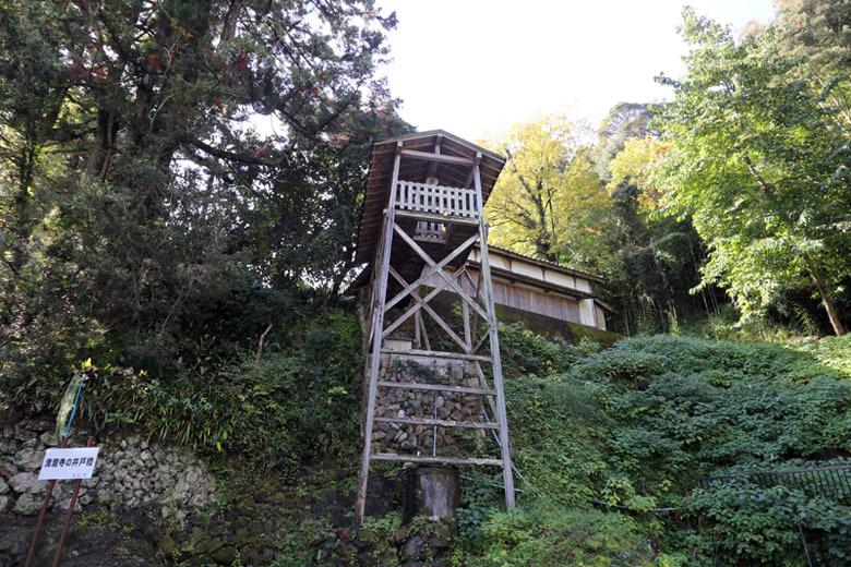 二俣城、井戸櫓