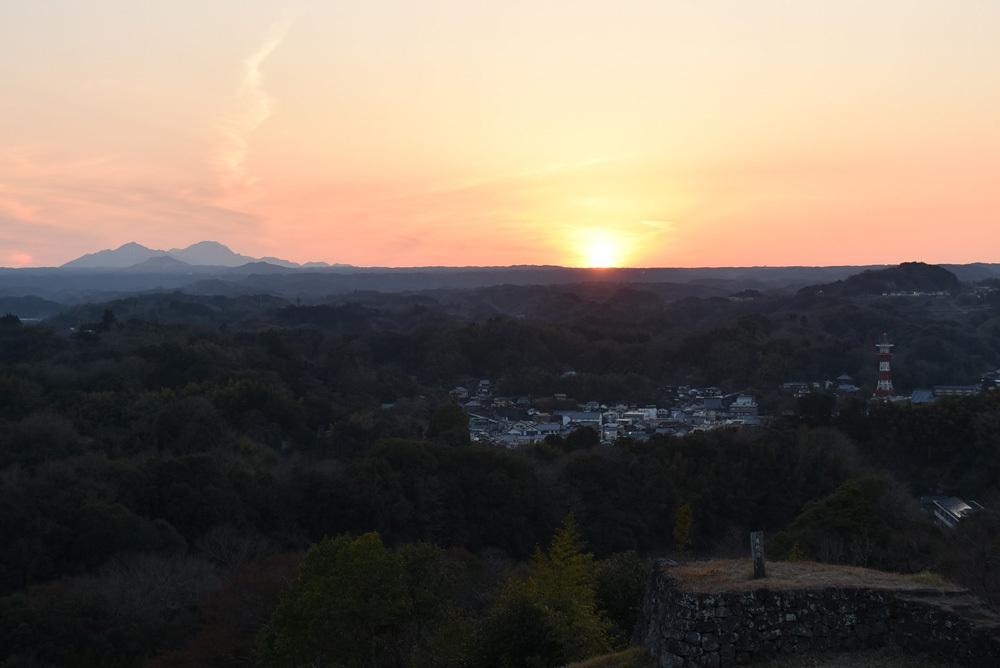 岡城、阿蘇山