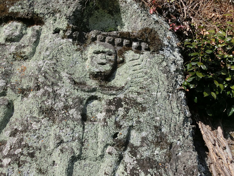 竹田、下木石仏