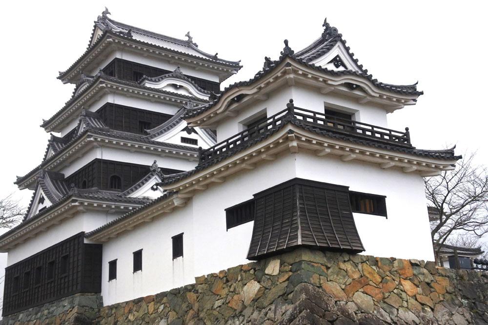 大洲城、高欄櫓