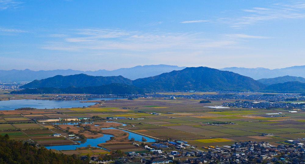 観音寺城、繖山