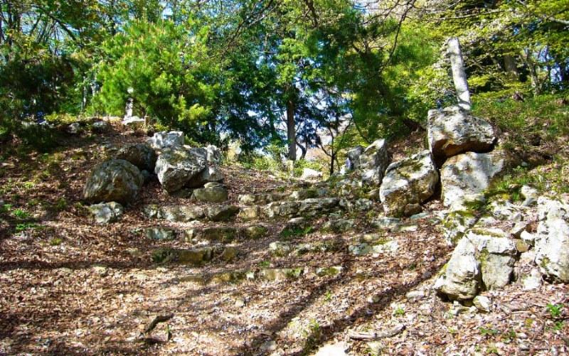 黒鉄門跡、石垣