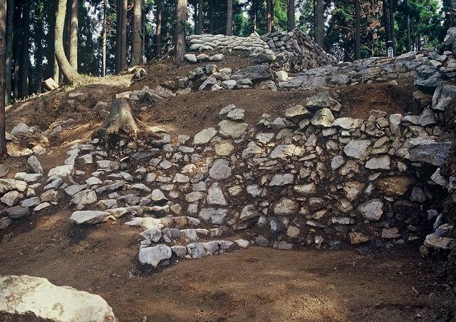 練積の石垣(鎌刃城)