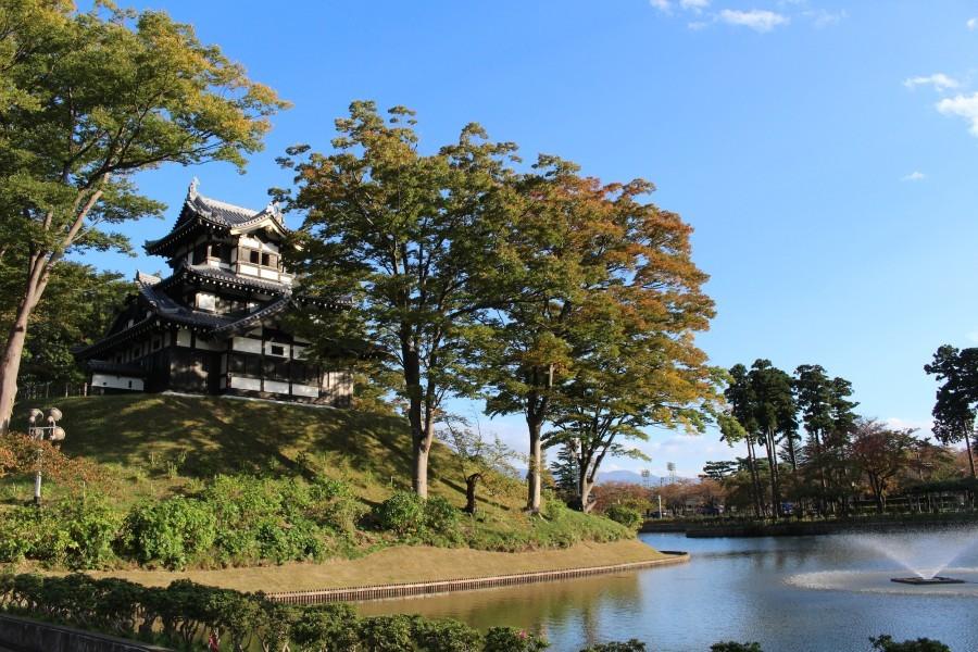 高田城、三重櫓