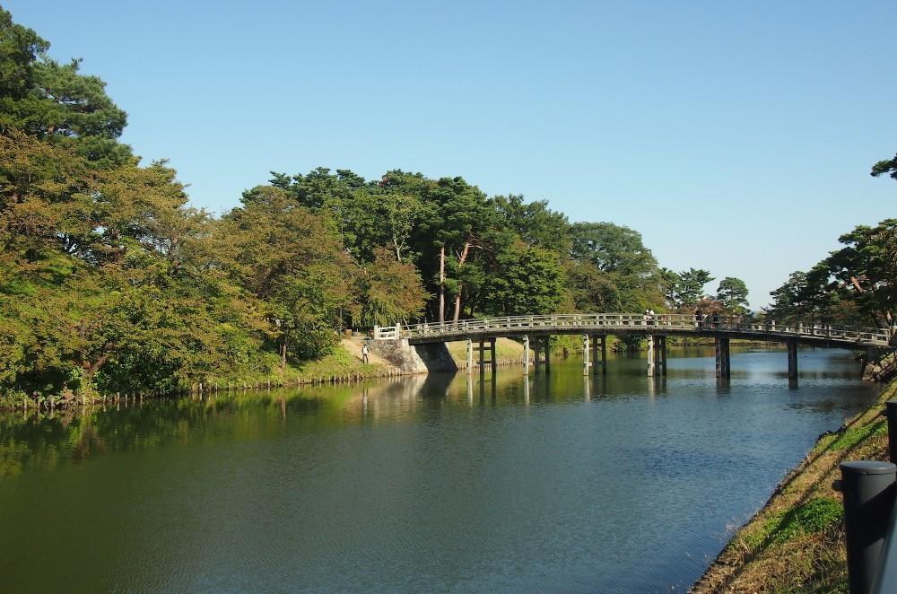 高田城、極楽橋